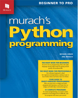 Murach's Python Programming cover image