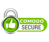Secured by Comodo Positive SSL Certificate
